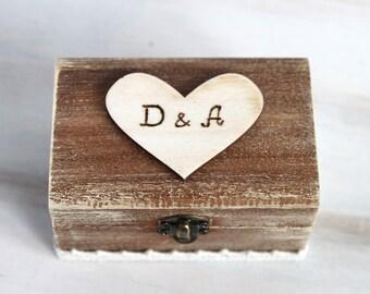 Wedding Ring Box Ring Bearer Box Custom ring box Rustic Ring Bearer Box Pillow Alternative Wood Ring Box  Engagement Ring Holder
