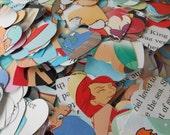 "1000 LITTLE MERMAID Hearts. 1"" Confetti Hearts. Wedding, Party Decor. Custom Orders Welcome."