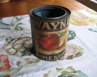 Wayne Applesauce Can
