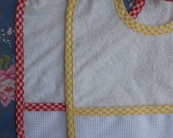 Kindergarten Bib to Stitch Set of 2
