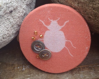 Textile Beetle Etsy