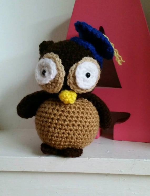 Graduation Owl Graduation amigurumi Owl by DesignsbyLadyAshley