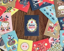 Matchbox Sticker Set - Snow White - 48 Pcs
