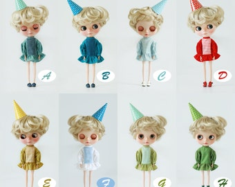 Miss yo 2015 Summer & Autumn - Candy Dress for Blythe doll - dress / outfit - 8 colors in