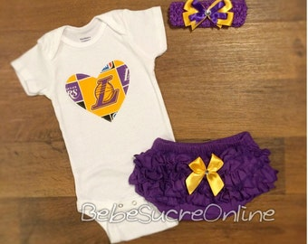 Lakers Outfit and Headband