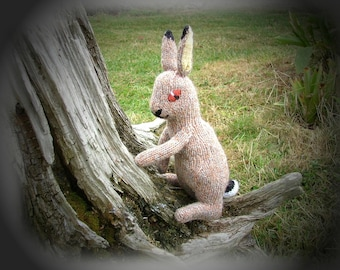 HARE, MOLE, HEDGEHOG knitting pattern by Georgina Manvell Pdf download
