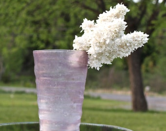 Catalonia Amethyst Vase by Phoenix Consolidated Glass Co