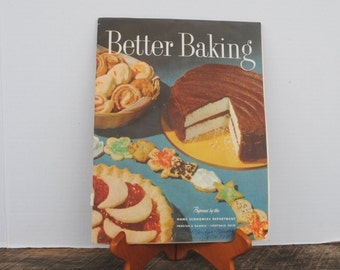 Better Baking Prepared by The Home Economics Department Proctor Gamble Ivorydale Ohio Paper Recipe Pamphlet