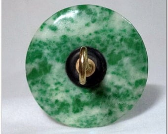 Drop Spindle - DS-019 - Ching Hai Jade