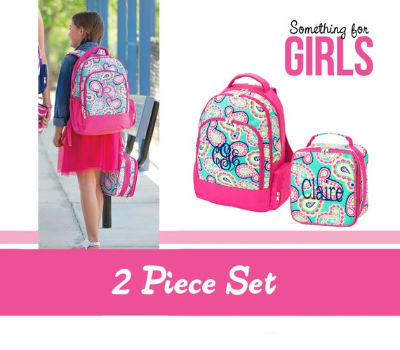 Personalized Backpack And Lunchbox Set | Cg Backpacks