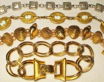 4 wearable Vintage bracelets
