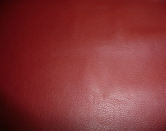 """Leather 8""""x10"""" DIVINE Dark Red top grain Cowhide 2-2.5 oz /.8-1mm Avaialbe in hides PeggySueAlso™ E2885-28"""
