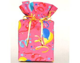Pink Birthday Tissue Box Cover/Kleenex Box Cover, Pink Bathroom Decoration, Girls Bathroom Accessories.