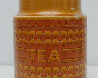 Hornsea Pottery Saffron Tea Barrel