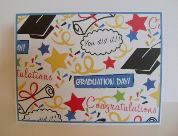 Graduation Note Card By Artofheartandhand On Etsy