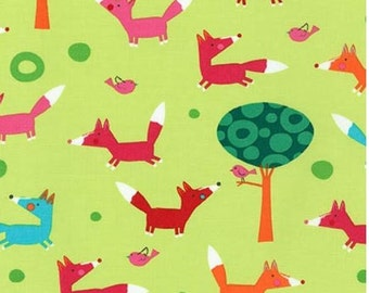 Garden Foxes from Robert Kaufman's Creatures and Critters 3 Collection