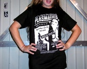 Plasmatics - Punk Flyer - Wendy O Williams - Pre-shrunk 100% coitton hand silk screened t-shirt