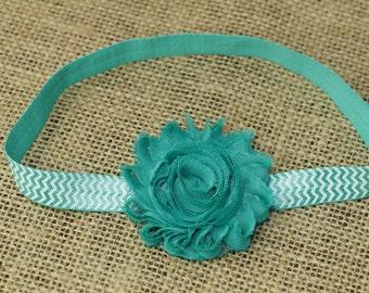 Shabby Flower Headband - Baby Headbands - Baby Girl Headbands - Baby Hair Accessories