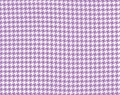 Fat Quarter for quilt or craft Michael Miller Tiny Houndstooth in Purple fat quarter