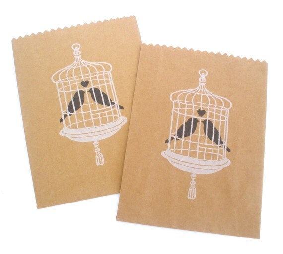 ... Bags / Favor Bags / Wedding Favors / Kraft Brown Food Bags / Brown