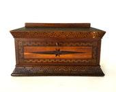 Antique document box / Sugar box