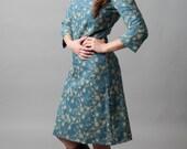Denim, embroidery, dress, thanksgiving, holiday, teach wear~Where I Belong (dress)