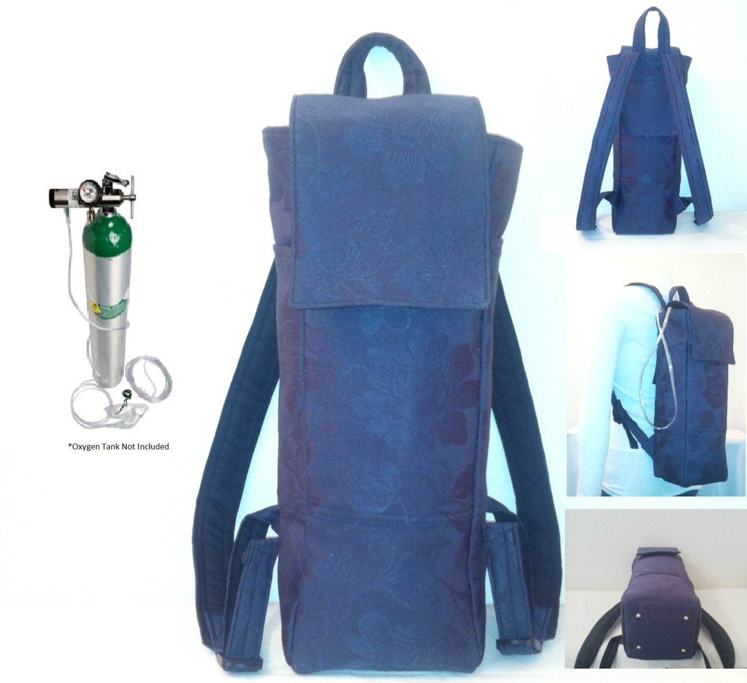Portable Oxygen Tank Backpack A Custom Made Designer By