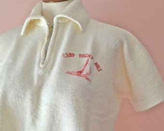 1950's Rockabilly Camp Sweatshirt or Sweater VTB8