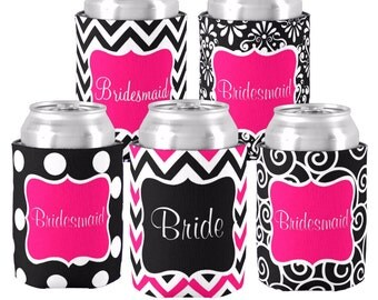 Personalized Monogram Can Monogrammed Koolie Coozie Beverage Holder- CREATE YOUR OWN