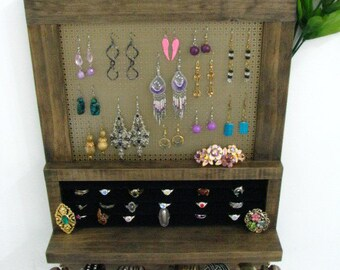 Jewelry Organizer and Ring Holder