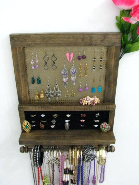 Jewelry Organizer and Ring Holder