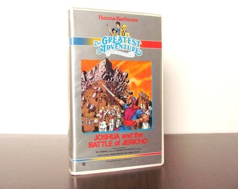1987 VHS The Greatest Adventure Stories from the Bible Joshua and the Battle of Jericho