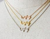 Wifey Necklace, Dainty Necklace