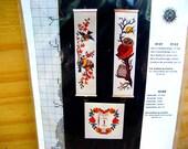 Vintage cross stich needlework counted cross stitch