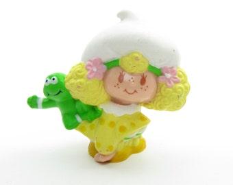 Lemon Meringue with Frappe Frog Miniature Vintage Strawberry Shortcake Figurine PVC Mini Figure