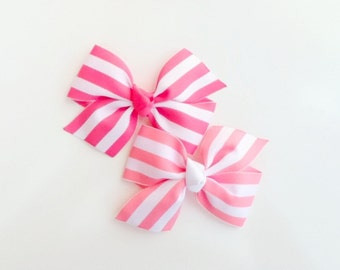 Pink Boutique hairbow,Hot Pink girls hairbow