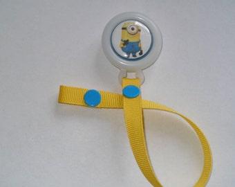 Minion Pacifier Clip