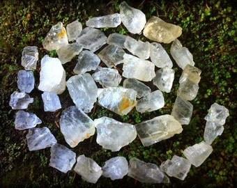 RARE Petalite natural stones