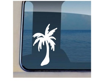 Palm Tree Hawaiian Tree Decal - 221