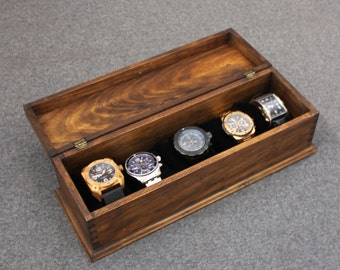 men s watch box watch box watch case wood watch box watch box watch case men s watch box watch box for men wood watch box watch display gift custom watch box for 5 watches new wood