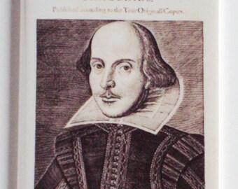 Shakespeare First Folio Fridge Magnet (2 x 3 inches)