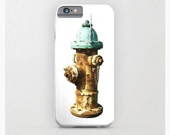 iPhone Case, Vintage Fire Hydrant, iPhone 6, 5/5s, 5C, 4/4s, 3D, Samsung Galaxy S4, S5, Gadget, Mobile Device Case, 3D Cell Phone, ArtBJC