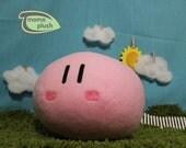 Blushing Dango Plush, Dango Pillow, Clannad Dango, Mochi Plush, Clannad Cosplay - Hand-made - size Large