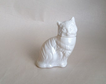 Vintage Avon Cat with Topaz Cologne