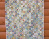 Handmade Floral Baby Quilt