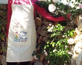 Embroidered Pottery, Art, Gardening Apron