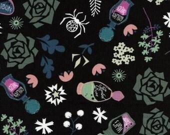 Cotton + Steel - Spellbound - Elixir Black by Rashida Coleman Hale