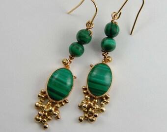 Luxury Jewelry Handmade Gold Earrings 14K Gold Earrings Solid Gold Earrings Gold Statement Earrings