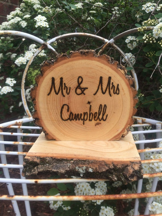 Decoration Mr  Mrs and Rustic Wood Sign sign Table mrs rustic  Personalized mr Wedding  Custom