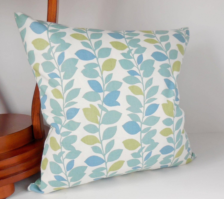 Pillow Case Decorative Throw Pillows Pastel Blue Sea Blue